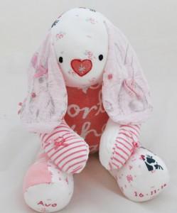 Baby Clothes Keepsake Bunny